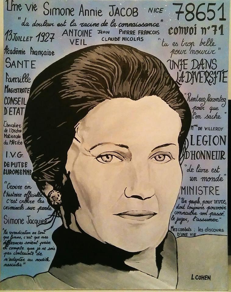 Simone Veil par LIONEL.COHEN
